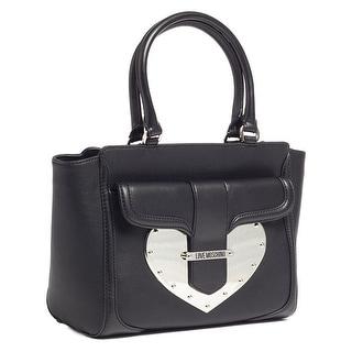 Moschino JC4033 0000 Black Satchel/Shoulder Bag