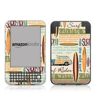 DecalGirl AK3-SURFW Kindle Keyboard Skin - Surf Words
