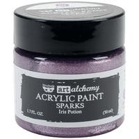 Finnabair Art Alchemy Sparks Acrylic Paint 1.7 Fluid Ounces-Iris Potion