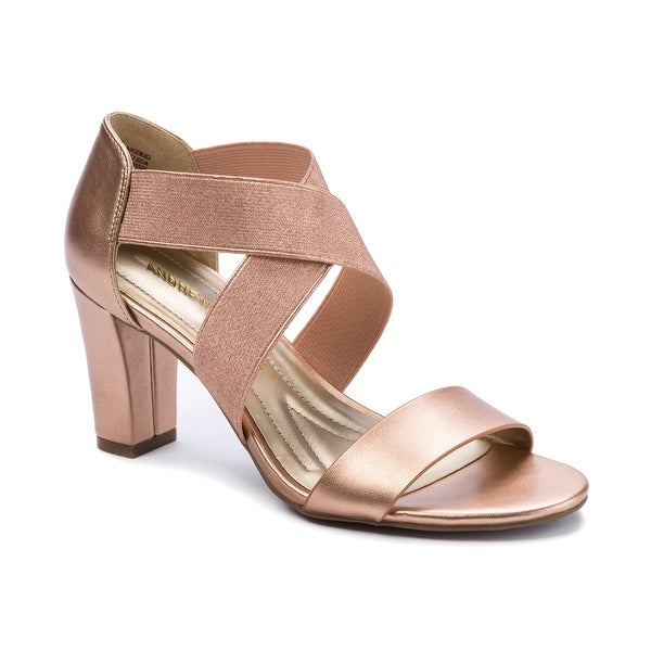 Andrew Geller Queena Women's Heels Rose/Gold