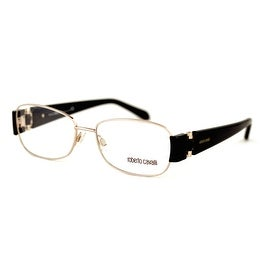 Roberto Cavalli Womens Ophthalmic Frame Modified Gold Rectangle Metal RC 544 28