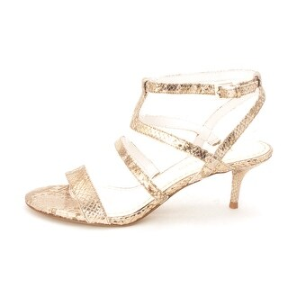 Enzo Angiolini Womens MERCHA Open Toe Ankle Strap D-orsay Pumps