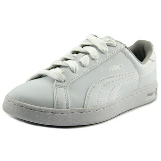 Puma Smash L Jr Round Toe Leather Sneakers