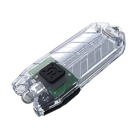 NITECORE TUBE v2.0 55 Lumen USB Rechargeable Keychain Flashlight (Transparent)