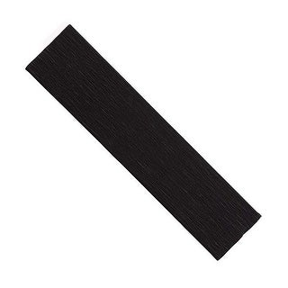 Pacon PACAC10210BN Black Crepe Paper, Pack of 12