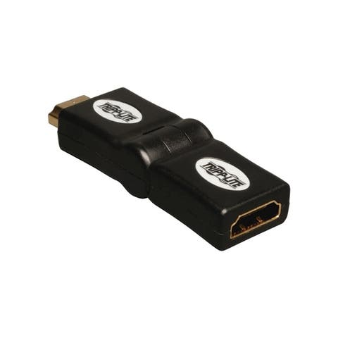 Tripp lite p142-000-ud hdmi male to female swivel adapter up / down angled connector m/f