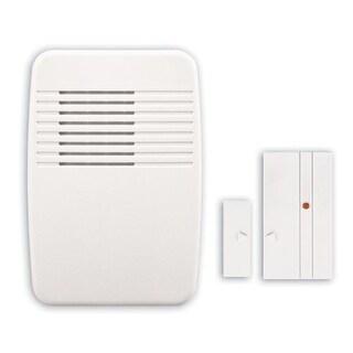 Heath Zenith SL-7368 Wireless Plug-In Chime with Entry-Alert Sensor