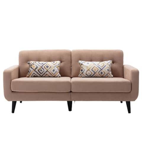 Modern Living Room Sofa, 2 Person Sofa 3 Seat Sofa Couch