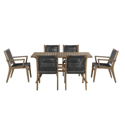 OVE Decors Quinn 7-Piece Patio Dining Set