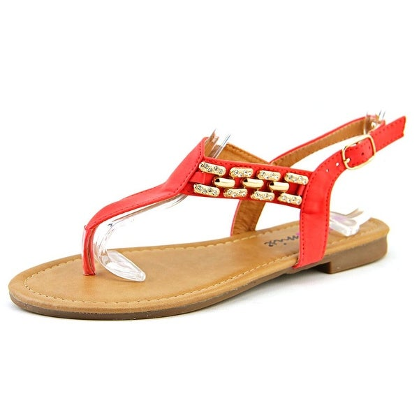 Dollymix Ella-80 Women  Open Toe Synthetic  Thong Sandal