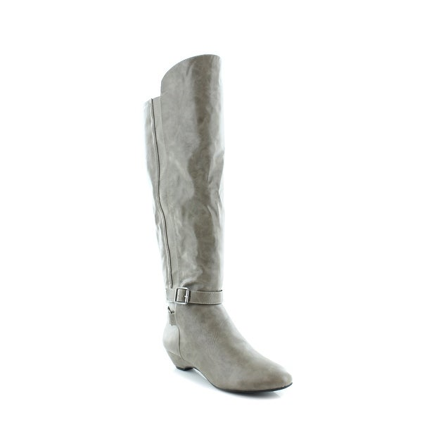 Madden Girl Zilch Women's Boots Taupe - 8