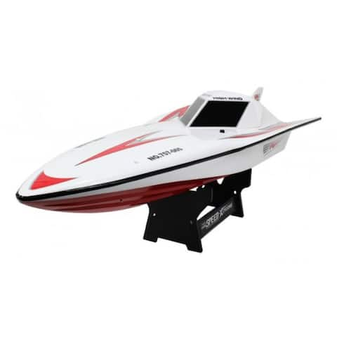 "29.5"" RC High Wing Radio Control Racing Boat"