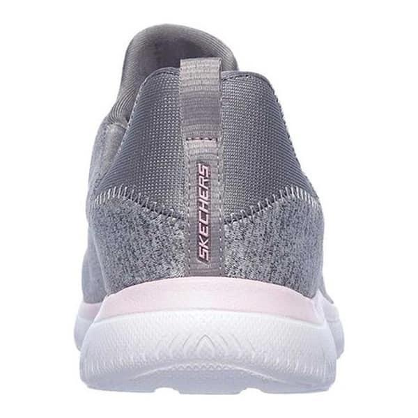 b681166736e5 Shop Skechers Women s Summits Quick Getaway Sneaker Gray Light Pink ...