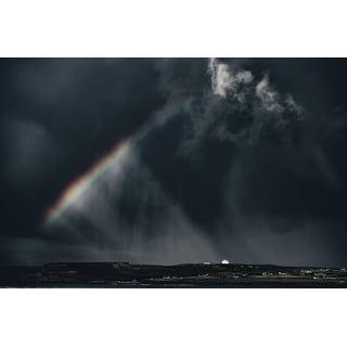 Rainbow Photograph Wall Art Canvas