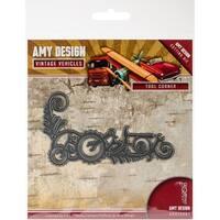 Find It Trading Amy Design Vintage Vehicles Die-Tool Corner
