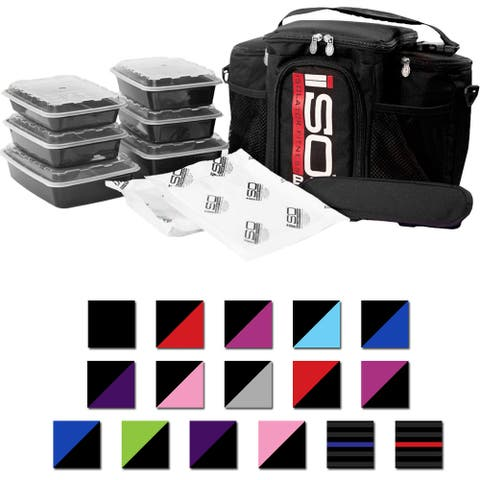 Isolator Fitness 3 Meal ISOBAG Meal Prep Management Bag - One Size