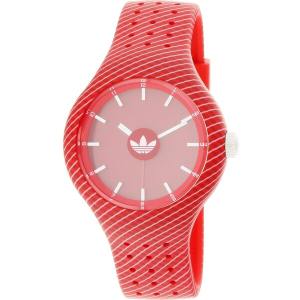 negozio adidas donne in silicone giapponese sport - quarzo rosso