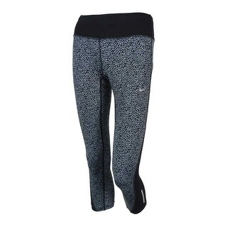 Nike Women's Printed Dri-Fit Capri Leggings