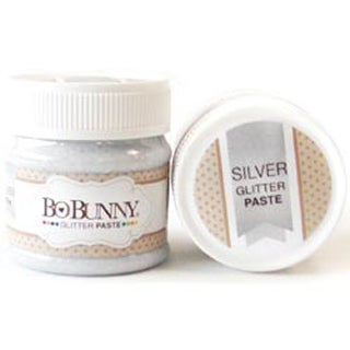 Silver - BoBunny Double Dot Glitter Paste