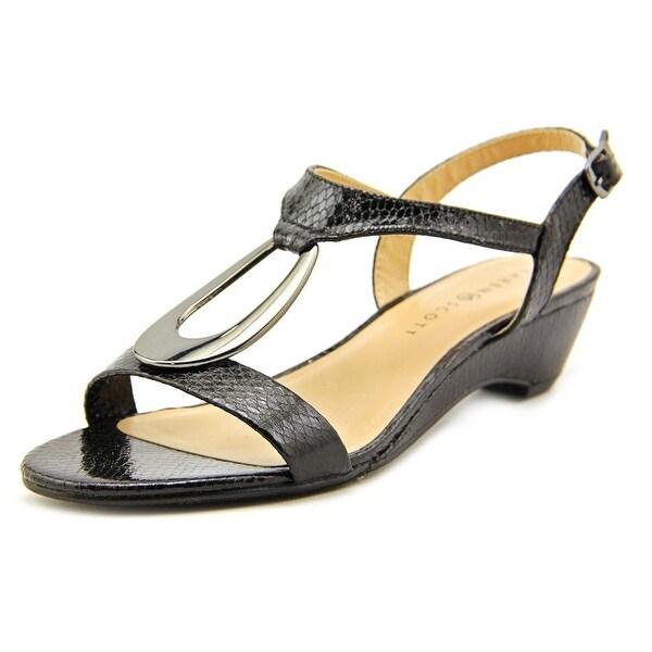 Karen Scott Carmeyy Women Open Toe Synthetic Wedge Sandal