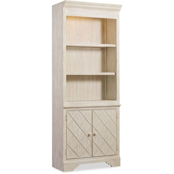 Hooker Furniture 5325 10446 32 Wide Rubberwood Shelving Unit From The Sunset Point Collection
