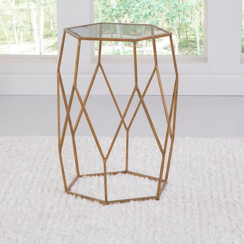 The Curated Nomad Roxbury Mixed Media Chairside End Table