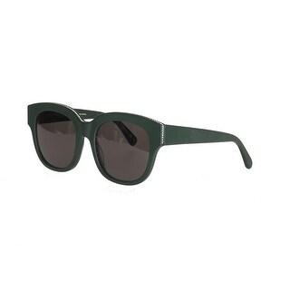 Stella McCartney SC0007S Wayfarer Sunglasses in Green