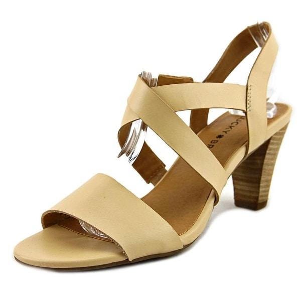 Lucky Brand Pacora Women Light Natural Sandals