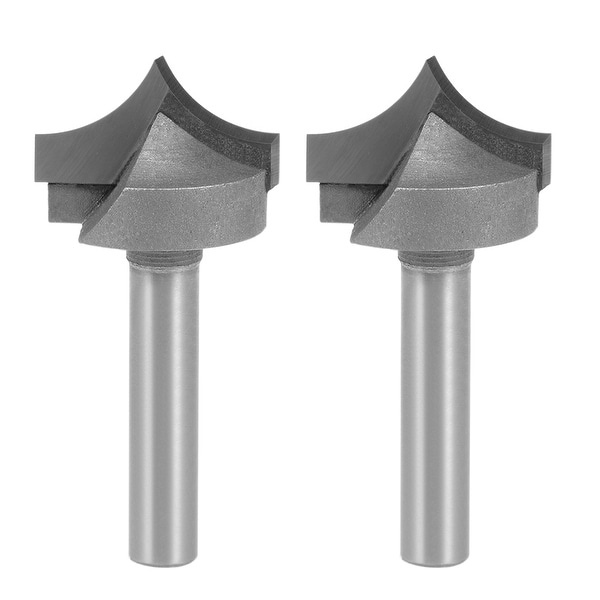 Router Bit 1/4 Shank 7/8 inch Dia Tapered End Mill for Woodworking