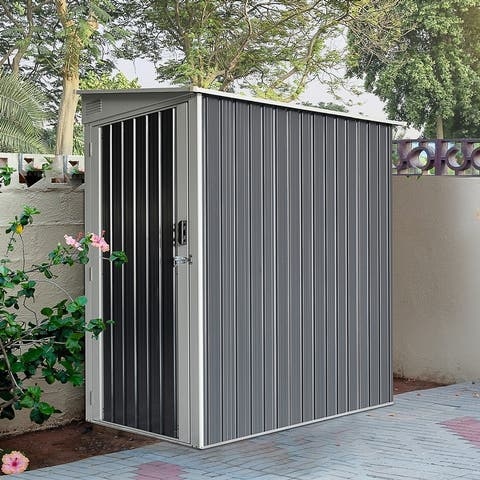 Outsunny Backyard Garden Tool Storage Shed