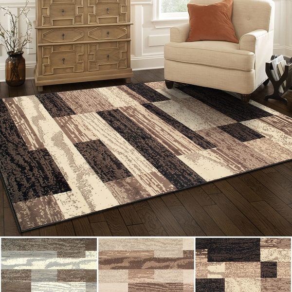 Superior Rockwood Distressed Patchwork Modern Area Rug Collection. Opens flyout.
