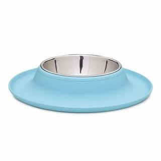 Zack and Zoey Crave Silicone Dog Bowl - Aqua - 12oz.
