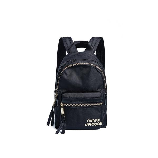 e528e5752 Shop Marc Jacobs Black Trek Pack Mini Nylon Backpack Handbag Purse ...