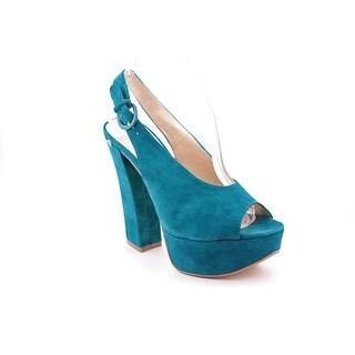 Chinese Laundry First Stop Women  Open Toe Suede  Platform Heel