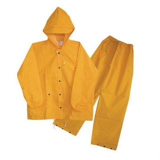 Boss 3PF2O1OYX Rain Suit, Yellow