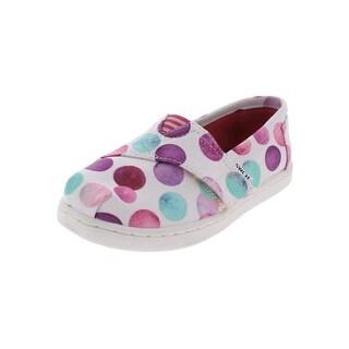 Toms Girls Casual Shoes Polka Dot Lightweight