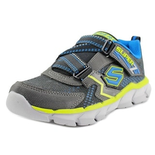 Skechers Protons EW Round Toe Synthetic Tennis Shoe