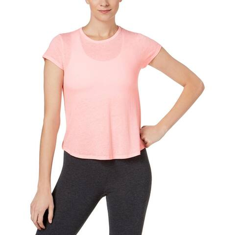 Calvin Klein Performance Womens T-Shirt Fitness Yoga