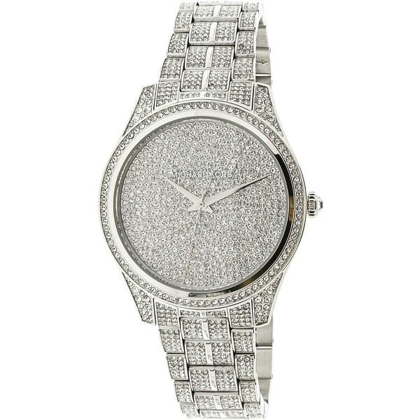 Michael Kors Women's Lauryn Silver Stainless-Steel Fashion Watch