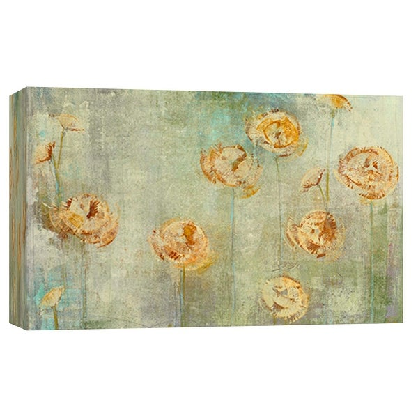 """PTM Images 9-101997 PTM Canvas Collection 8"""" x 10"""" - """"Grayce 1"""" Giclee Flowers Art Print on Canvas"""