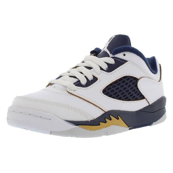 best service fa591 de5c1 Jordan Retro 5 Low Basketball Preschool Kid s Shoes - 11 ...