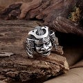 Vienna Jewelry Resurrected Creature Stainless Steel Ring - Thumbnail 0