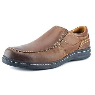 Johnston & Murphy McCarter Men  Round Toe Leather Brown Loafer