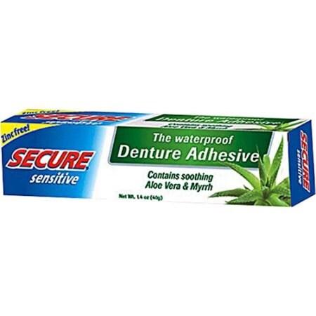 SECURE Sensitive Denture Adhesive - 1.4 oz
