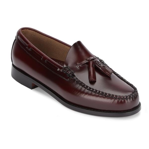 G.H. Bass & Co. Mens Weejuns Lexington Leather Tassel Loafer Shoe