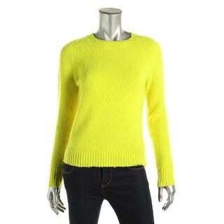 Polo Ralph Lauren Womens Shetland Wool Crew Neck Pullover Sweater - M