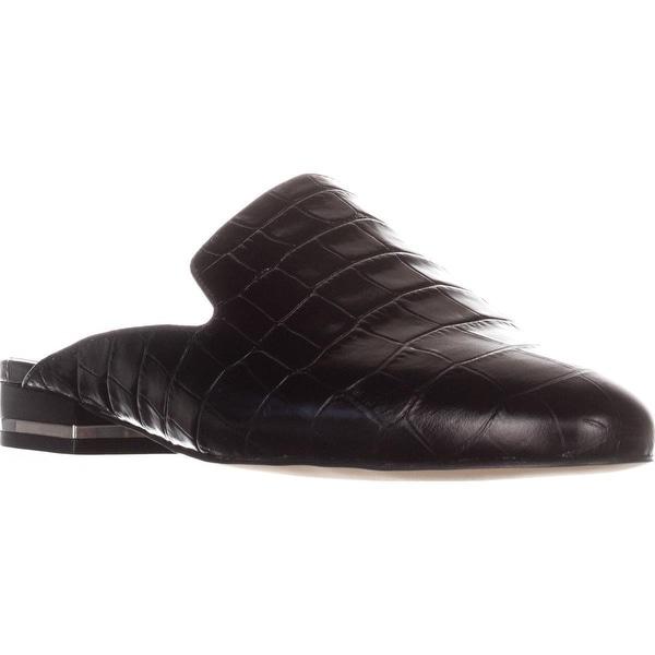 MICHAEL Michael Kors Natasha Flat Slide Mules, Black
