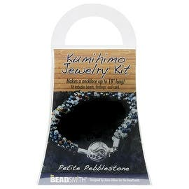 BeadSmith Kumihimo Bracelet Jewelry Kit, Do It Yourself, Petite Pebblestone|https://ak1.ostkcdn.com/images/products/is/images/direct/41e4c6f1a37df7a9452e0e2290b2849c0c327b26/BeadSmith-Kumihimo-Bracelet-Jewelry-Kit%2C-Do-It-Yourself%2C-Petite-Pebblestone.jpg?impolicy=medium
