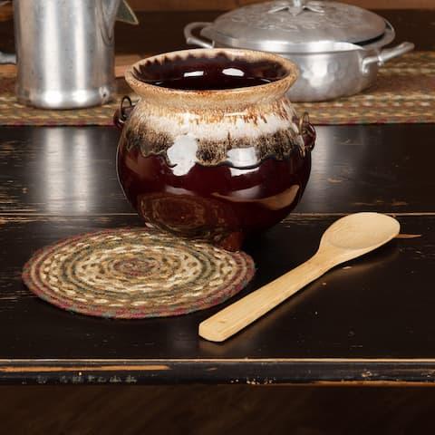 Tea Cabin Jute Trivet 8 - Trivet 8