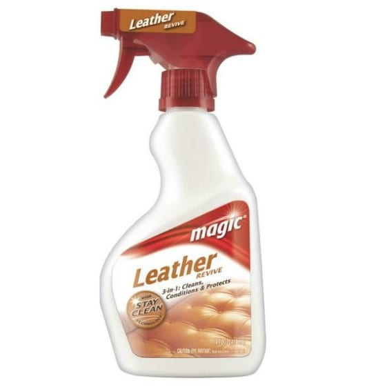 Magic 3068 Complete Leather Cleaner & Protector, 14 oz